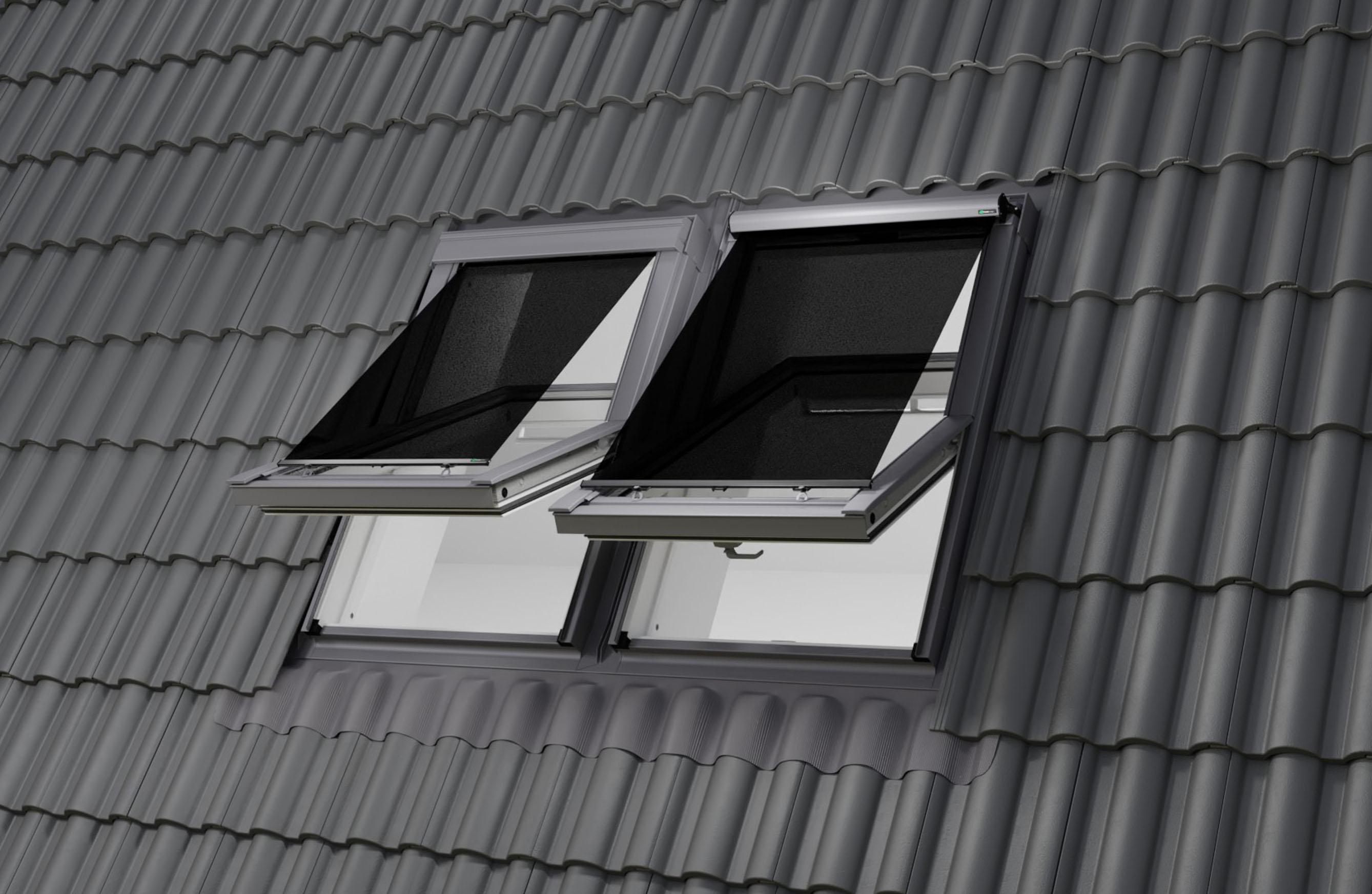 Tetőablak külső hővédő roló