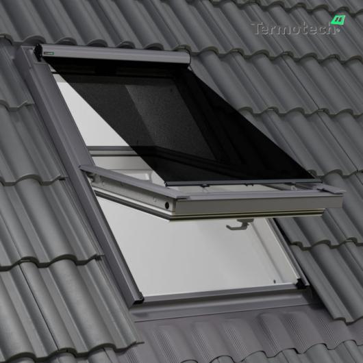 Fekete Külső hővédő roló FAKRO  / OPTILIGHT  tetőablakra