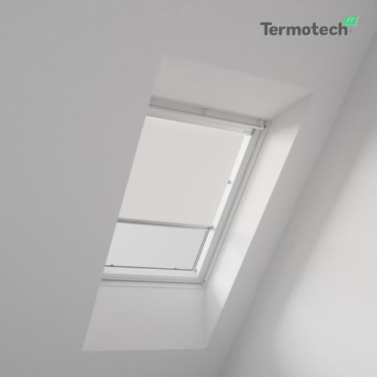 Fehér Árnyékoló roló HUNGVELUX tetőablakra