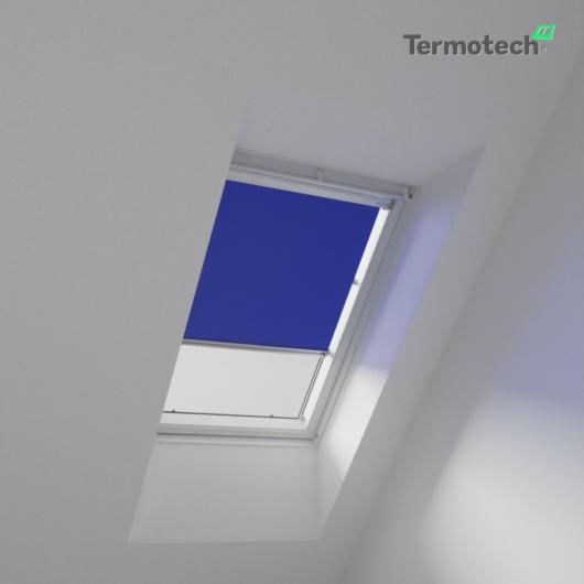Kék Árnyékoló roló BALIO / SOLIS tetőablakra