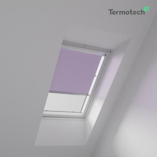 Levendula Árnyékoló roló VELUX tetőablakra