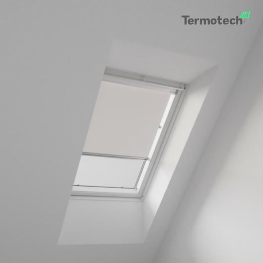 Szürke Árnyékoló roló FAKRO / OPTILIGHT tetőablakra