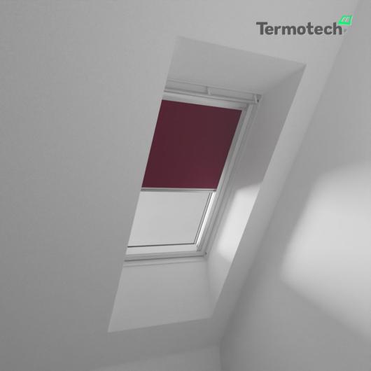 Bordó Fényzáró roló FAKRO / OPTILIGHT tetőablakra
