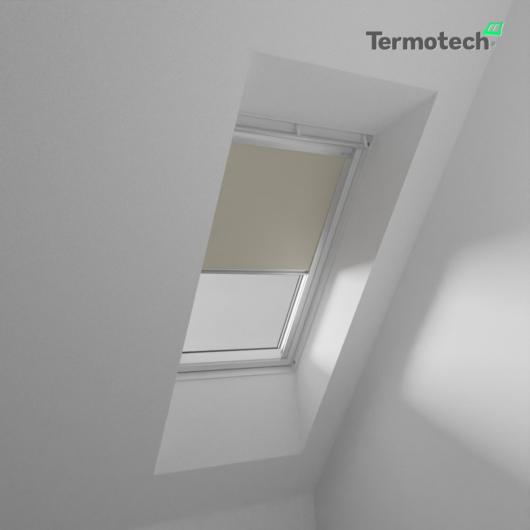 Drapp Fényzáró roló VELUX tetőablakra