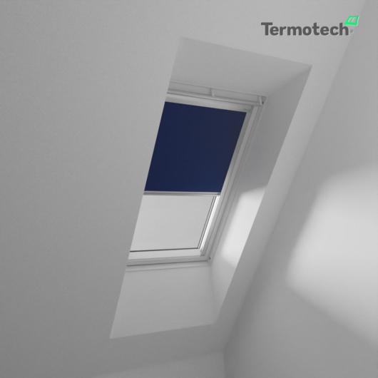 Kék Fényzáró roló VELUX tetőablakra