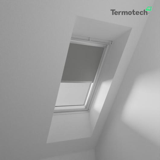 Sötét szürke Fényzáró roló VELUX tetőablakra