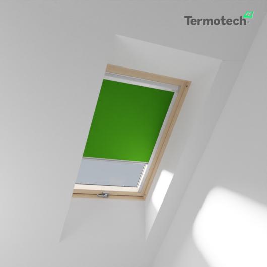 Zöld Fényzáró roló FAKRO / OPTILIGHT tetőablakra