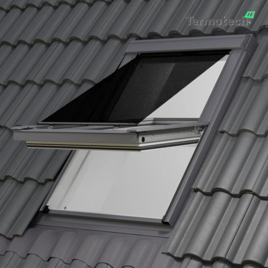 Fekete Külső hővédő roló VELUX tetőablakra