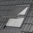 Kép 1/2 - Szürke Külső hővédő roló HUNGVELUX tetőablakra